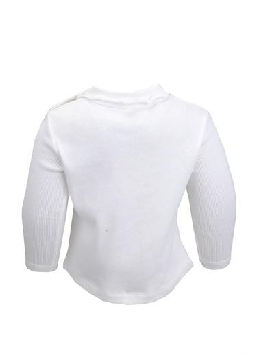 Zeyland Roba Fırfırlı Bluz (12ay-4yaş) Roba Fırfırlı Bluz (12ay-4yaş) Ekru